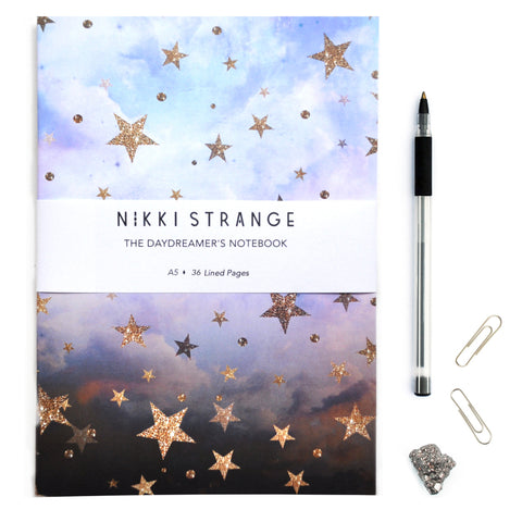 A5 Cloudy Stars Notebook