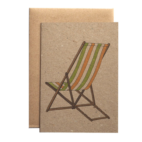 Deckchair Summer Card