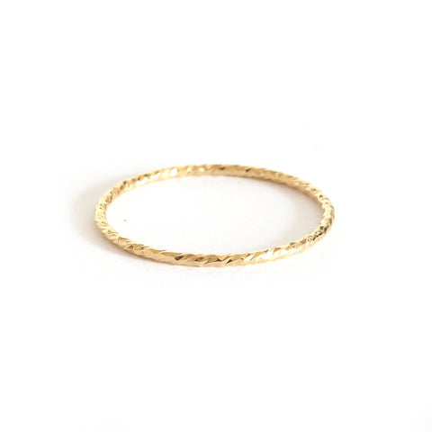 ana sparkle stacking ring