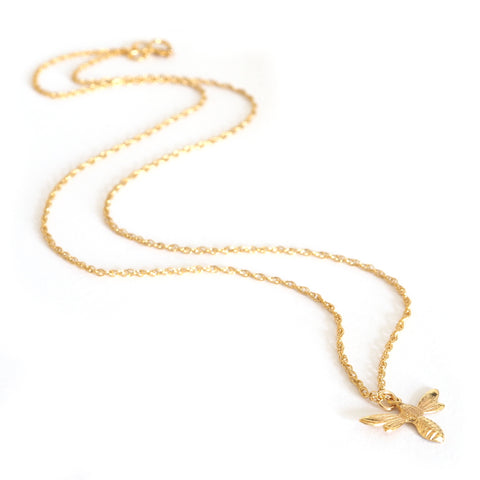 Gold Little Lucky Charm Necklace