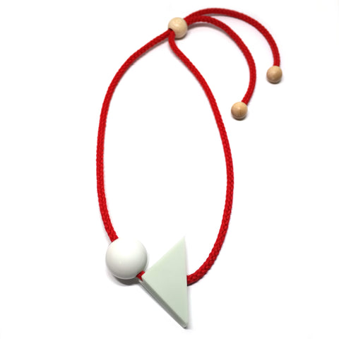 Eileen Resin Corian Necklace by One We Made Earlier