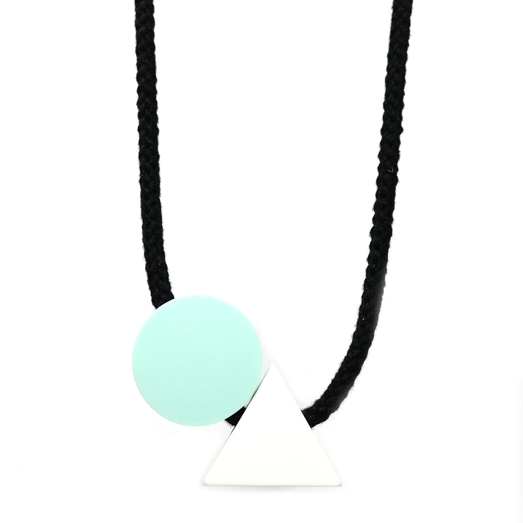 Ellesworth Corian Resin Necklace