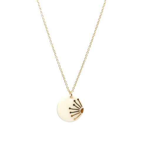 Gold Sunray Necklace