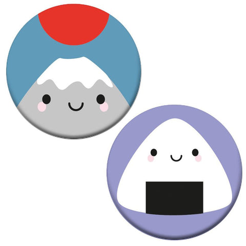 Kawaii Japan Badge Set