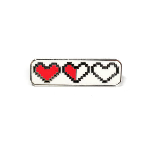 Heart Container Legend of Zelda Inspired Enamel Pin
