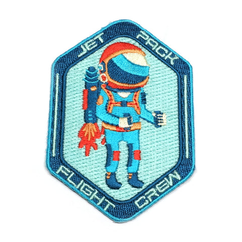 Jet Pack Iron-On Patch