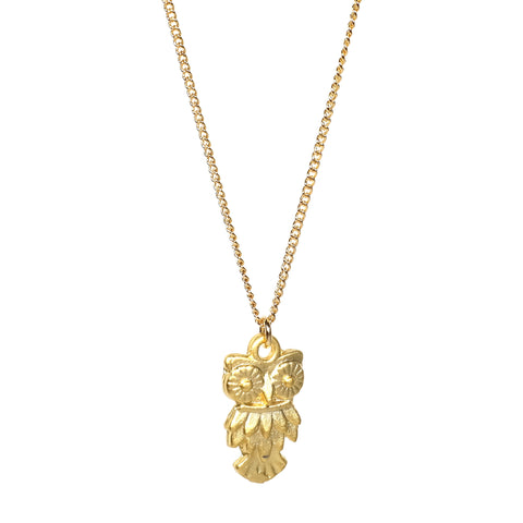 Little Golden Animal Necklace