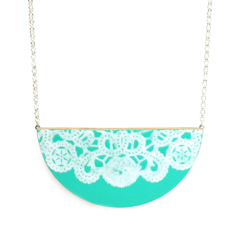 Turquoise Luna Necklace
