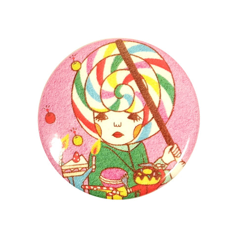 Lollipop Hat Pin Badge