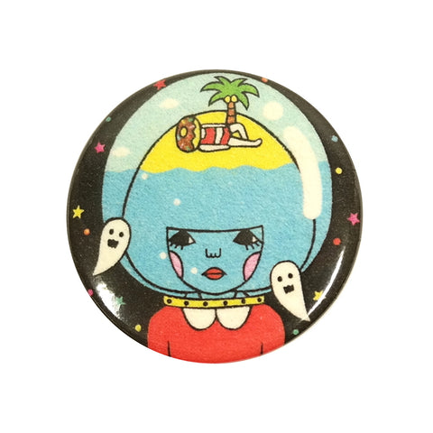 Ghost Island Diver Sunae Pin Badge
