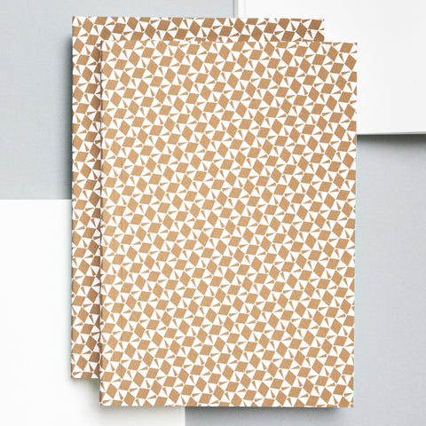 A5 Layflat Notebook in Gold Victor