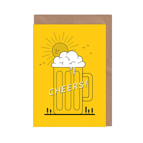 Cheers! Beer Illustrated Card