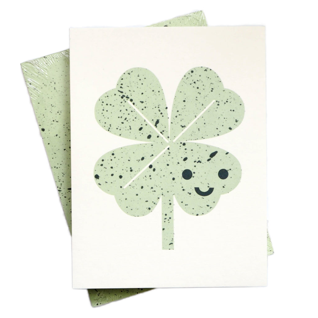 Scout Editions Cute Lucky Clover Pocket Notebook