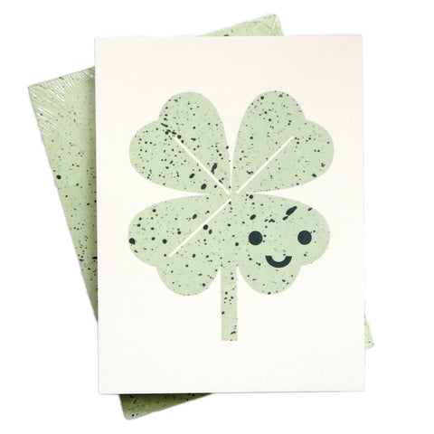A6 Clover Pocket Notebook