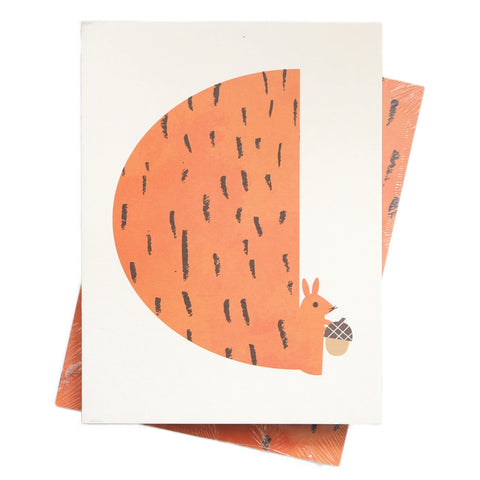 Scout Editions Cute Red Squirrel Pocket Notebook