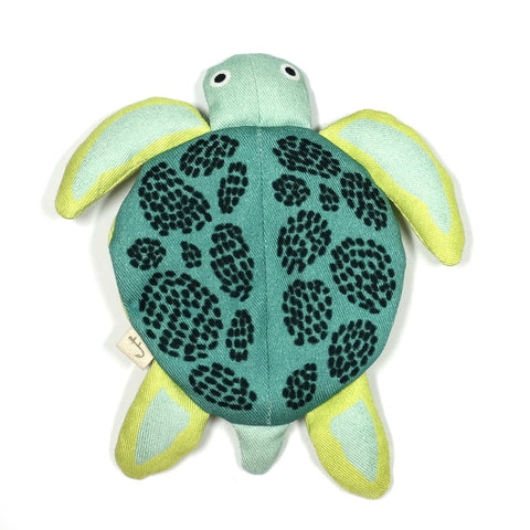 little turtle cotton pouch by don fisher