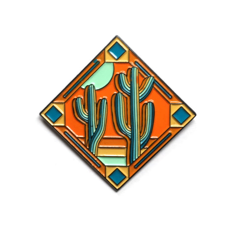 Southwest Enamel Pin