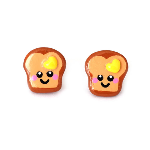 Loved Up Toast Studs