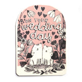 Wedding Cats Card