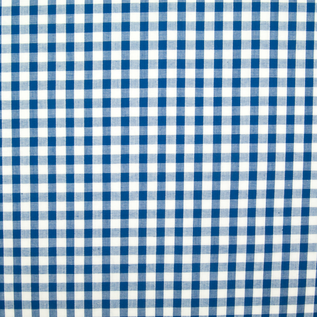 "1/4"" Corded Gingham Check - Royal Blue"