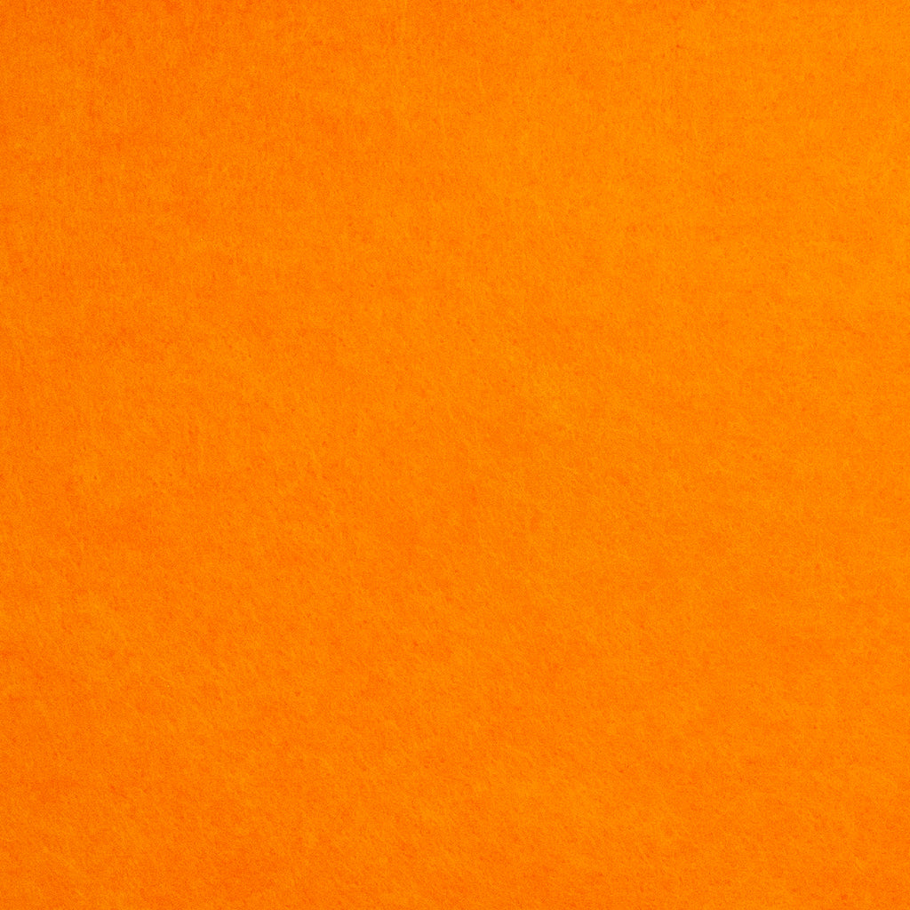 Acrylic Felt - Jaffa Orange - Cut from Roll