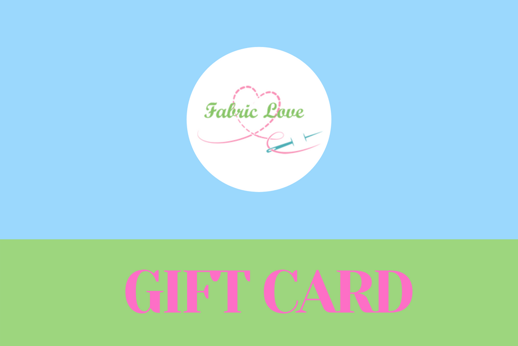 Fabric Love Gift Card
