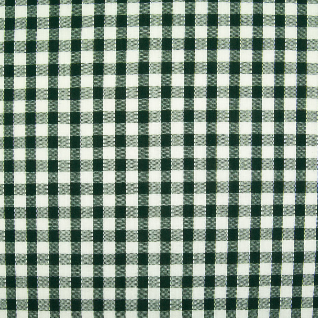 "1/4"" Corded Gingham Check - Bottle Green"