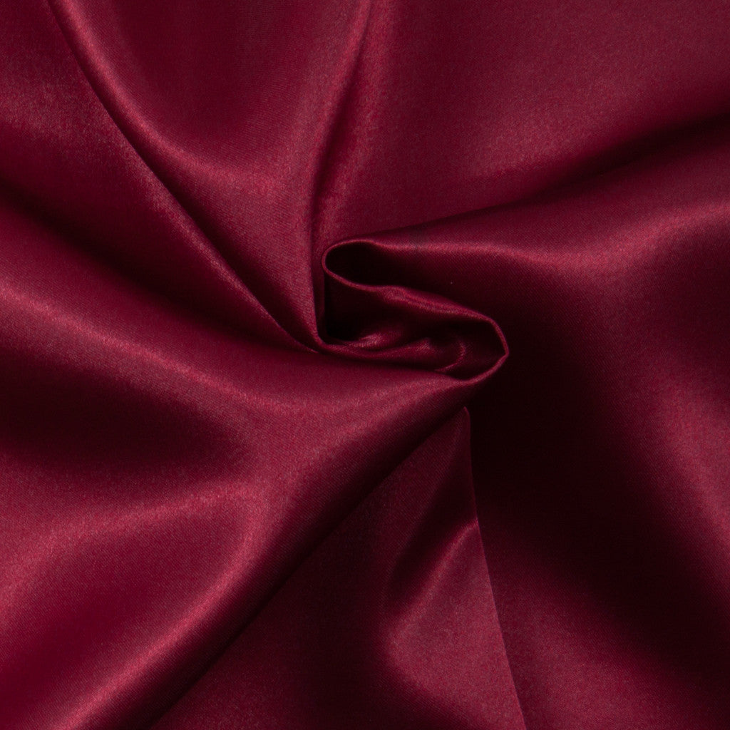 Budget Satin - Dark Red