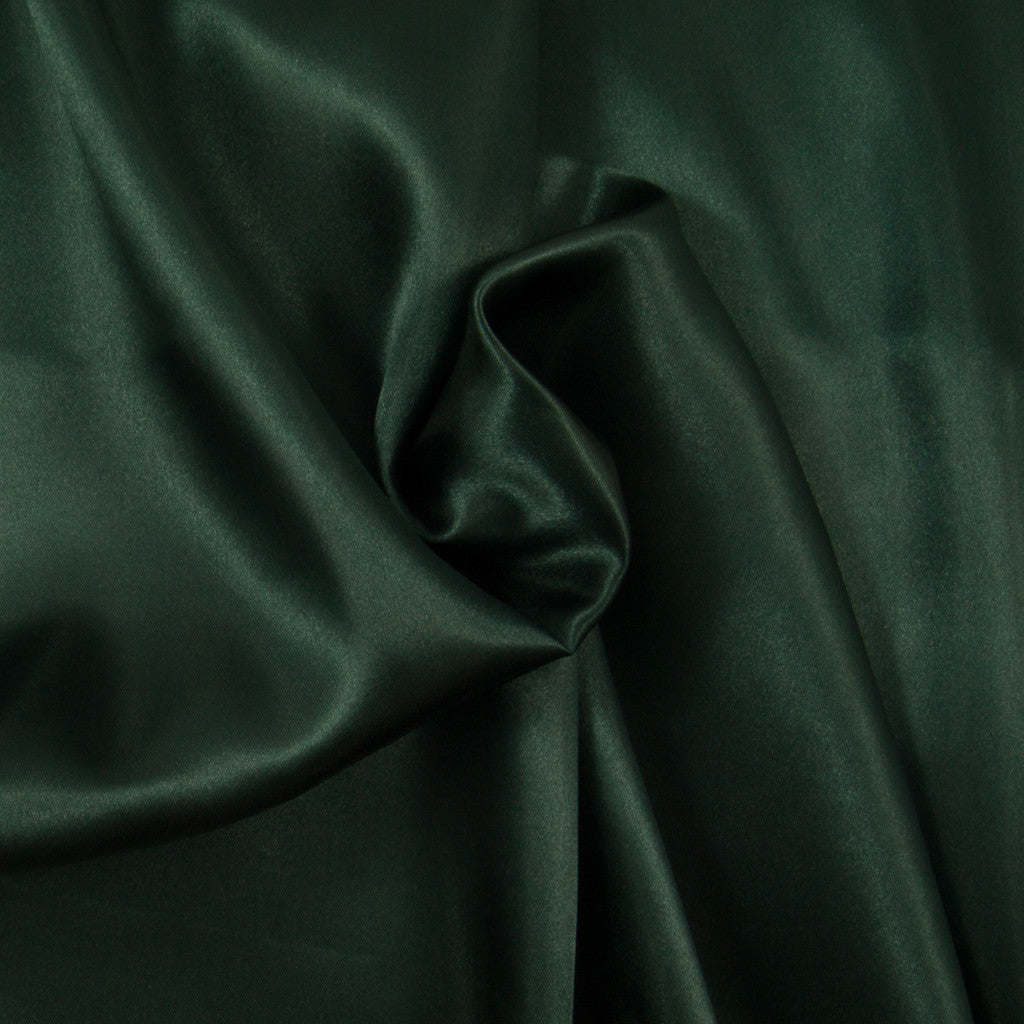 Budget Satin - Dark Green