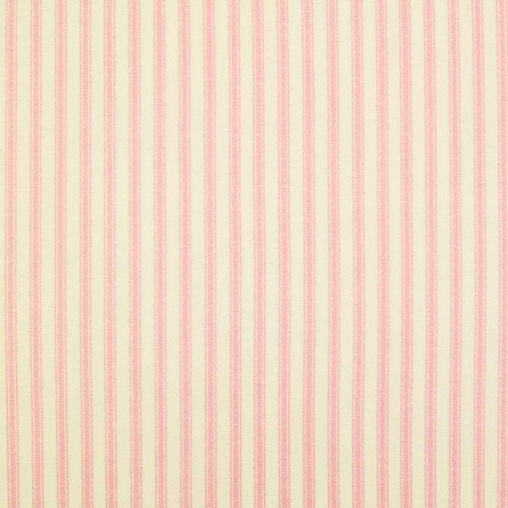 Rose & Hubble Classic Ticking Stripe  -  100% Cotton Poplin - Pink