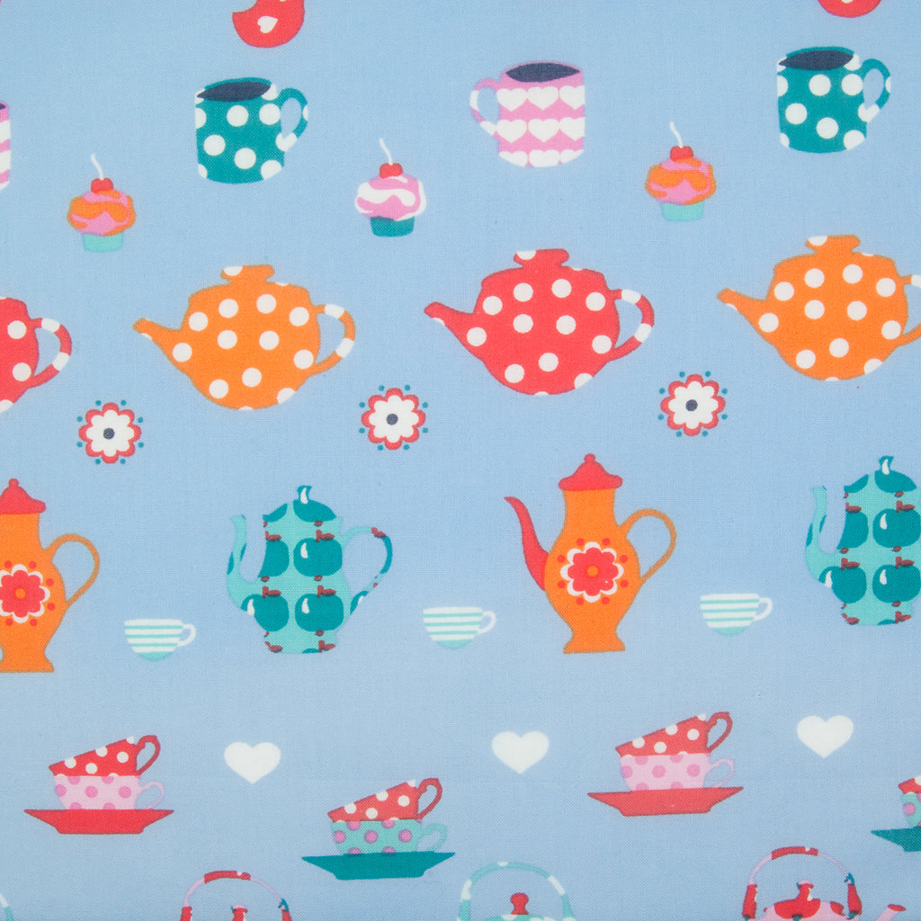 Tea Party - 100% Cotton Fabric