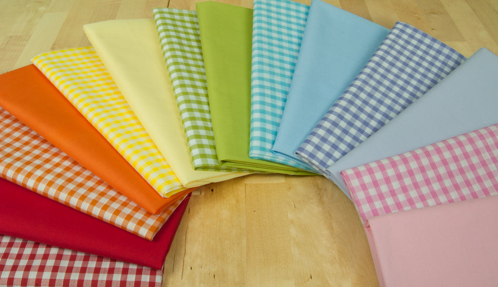 Rainbow Essentials - Gingham & Plains Bundle