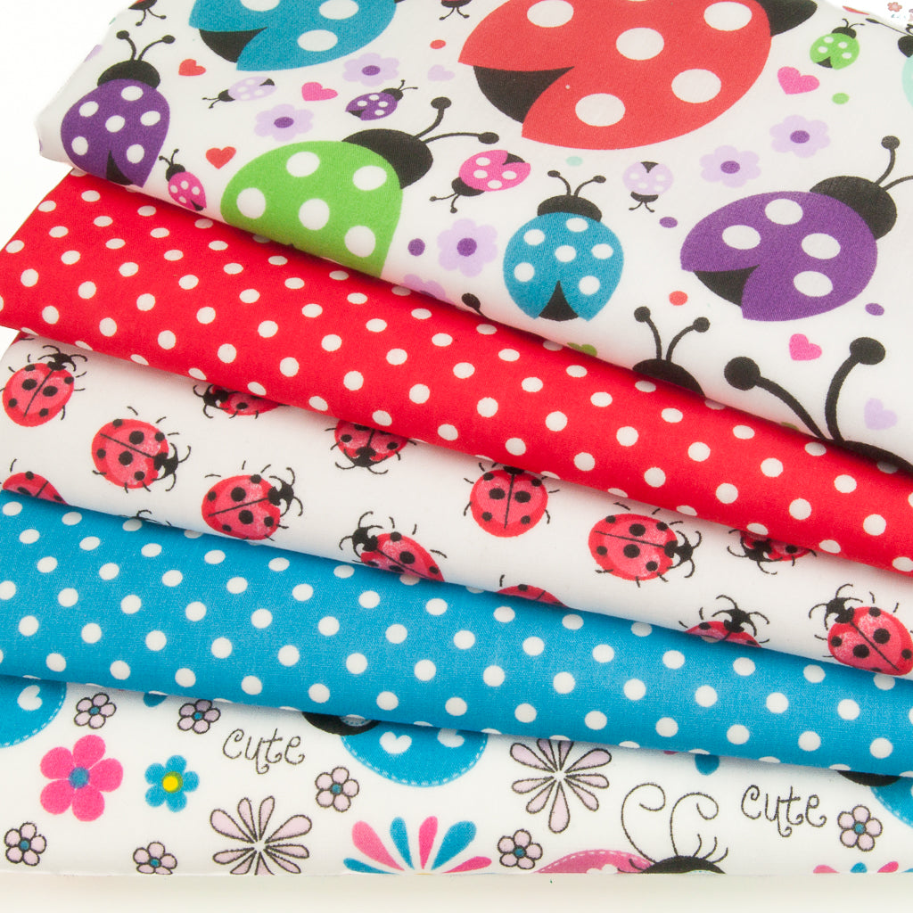 Spotty Ladybird - Polycotton Bundle