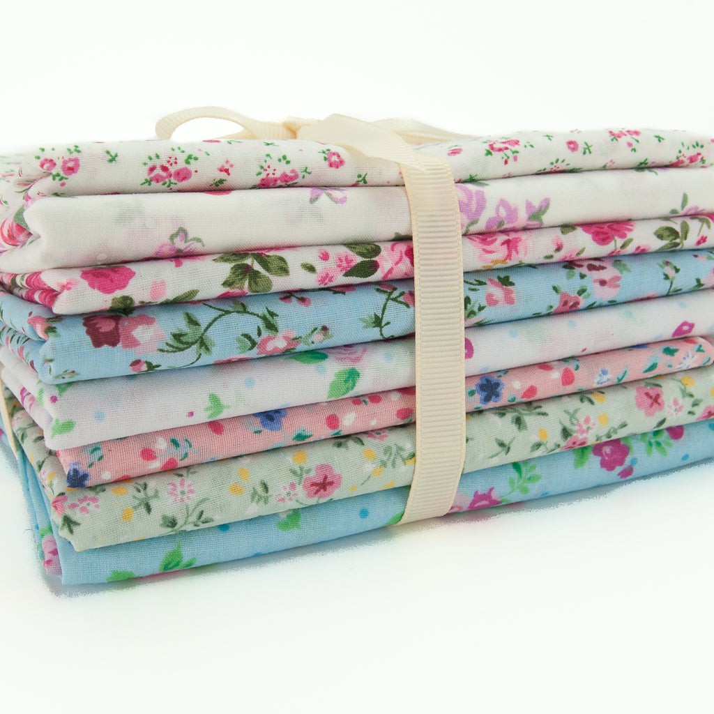 Floral Polycotton Remnants Packs