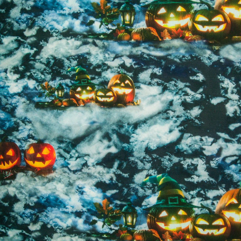 Moonlit Spooky Halloween Night - 100% Cotton Fabric