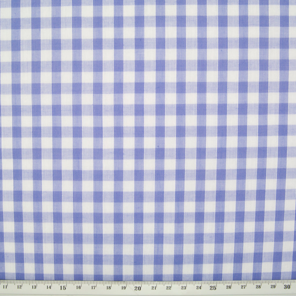 "1/4"" Corded Gingham Check - Lilac"