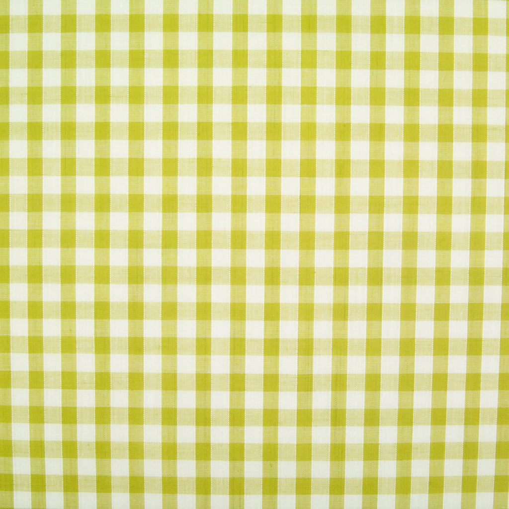 "1/4"" Corded Gingham Check - Lime Green"