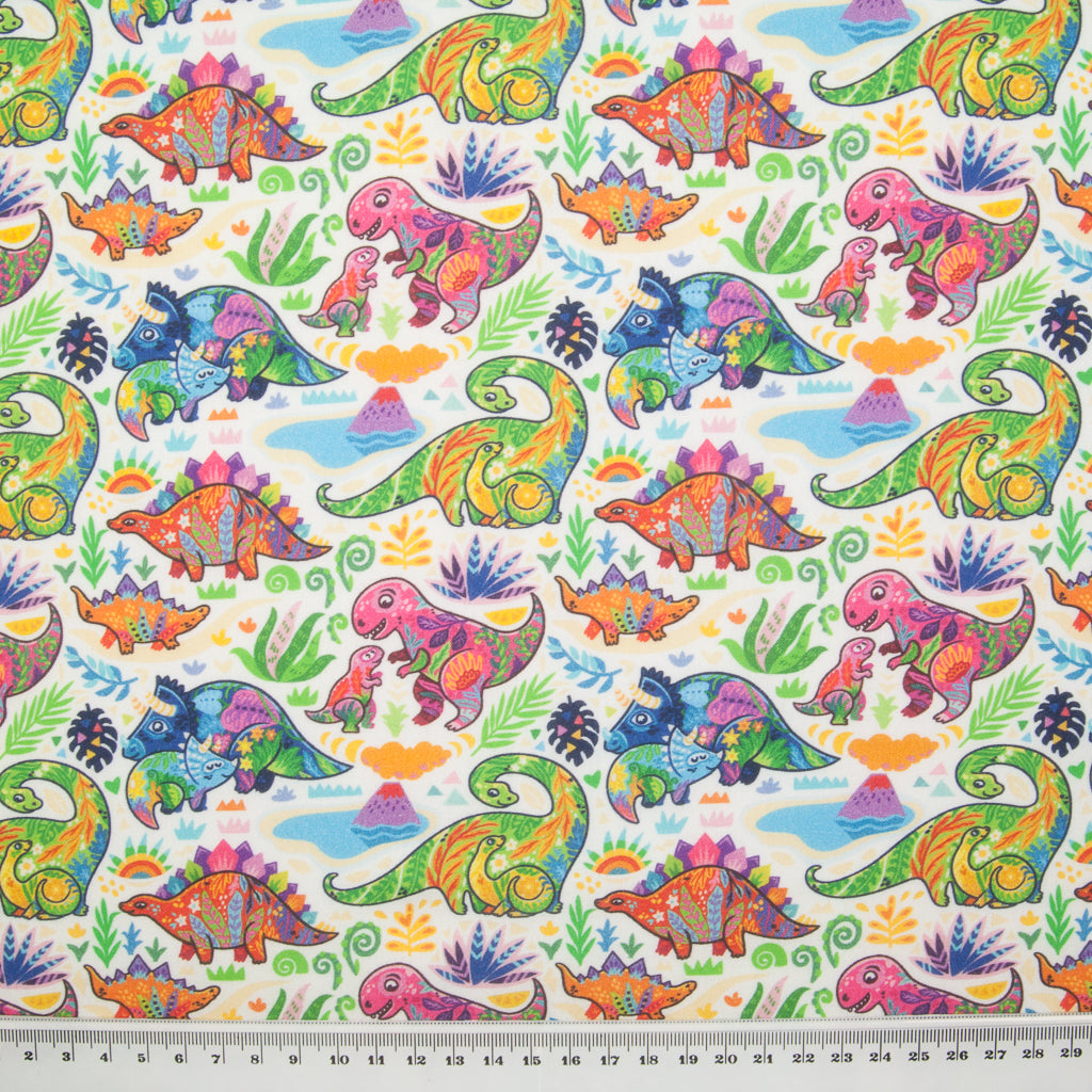 Baby Dinosaur -  100% Cotton Fabric