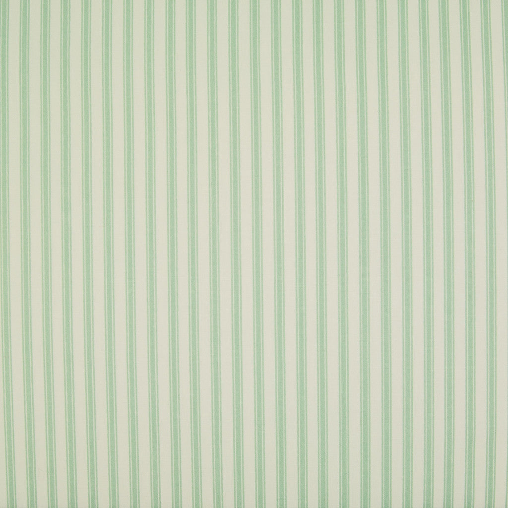 Rose & Hubble Classic Ticking Stripe  -  100% Cotton Poplin - Green
