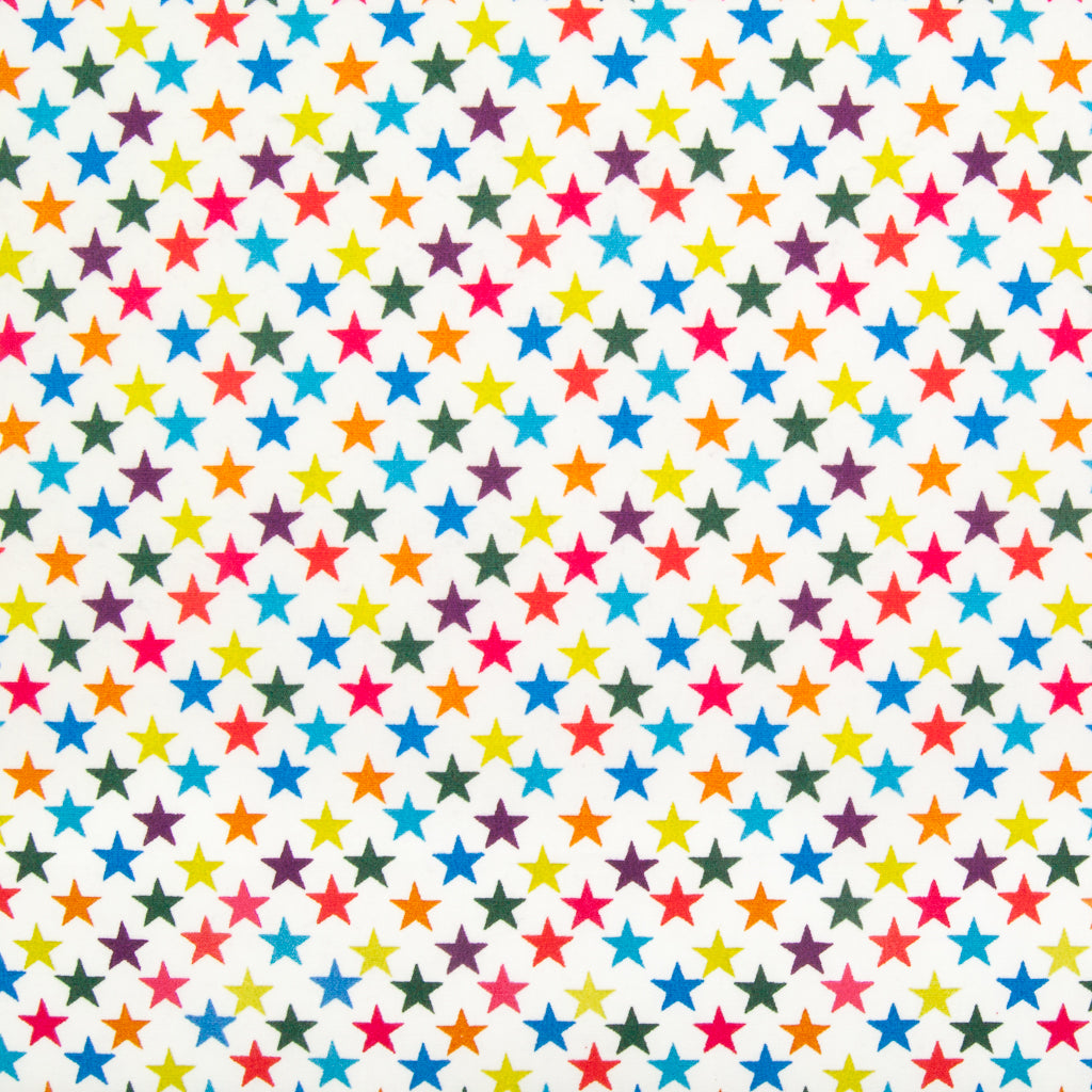 Multi Star - 100% Cotton Fabric
