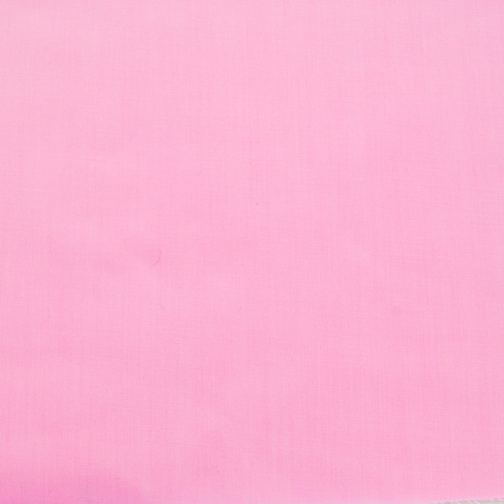 Plain Polycotton - Candy Pink