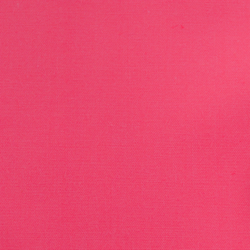 Plain Polycotton - Cerise