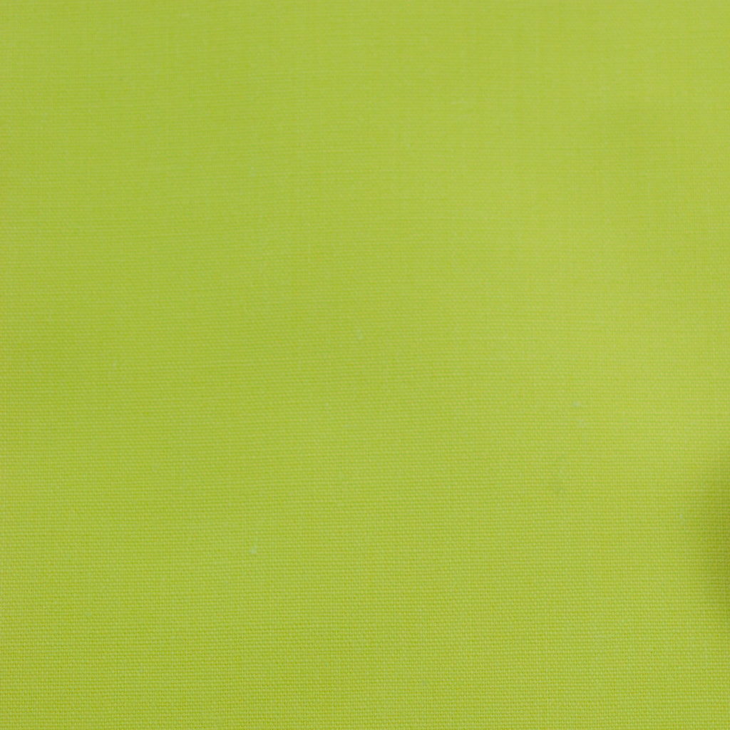 Plain Polycotton - Lime Green