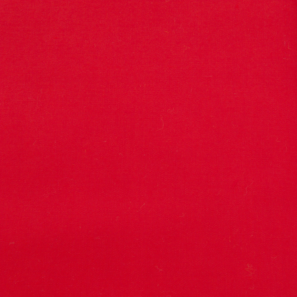 Plain Polycotton - Red