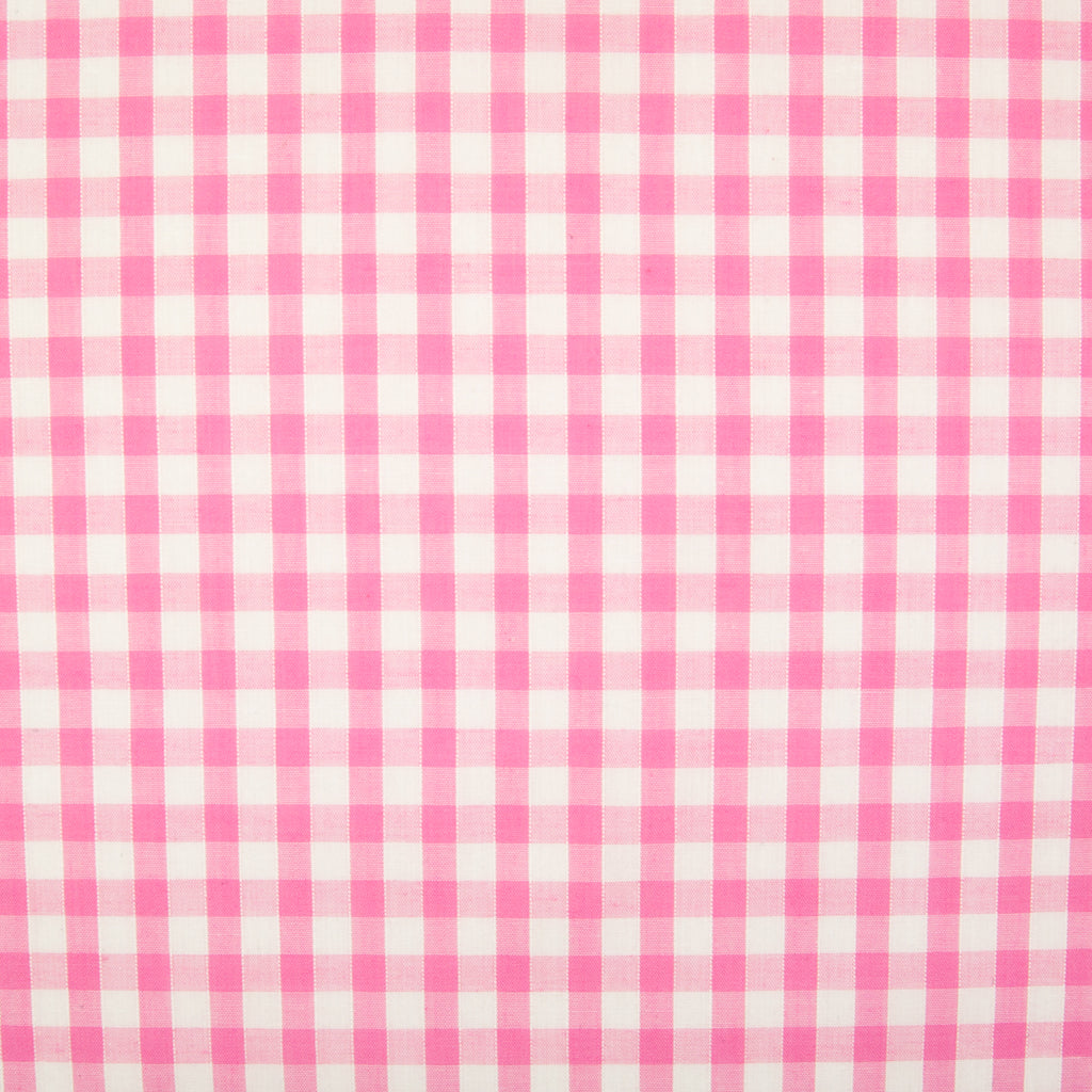 "1/4"" Corded Gingham Check - Pink"
