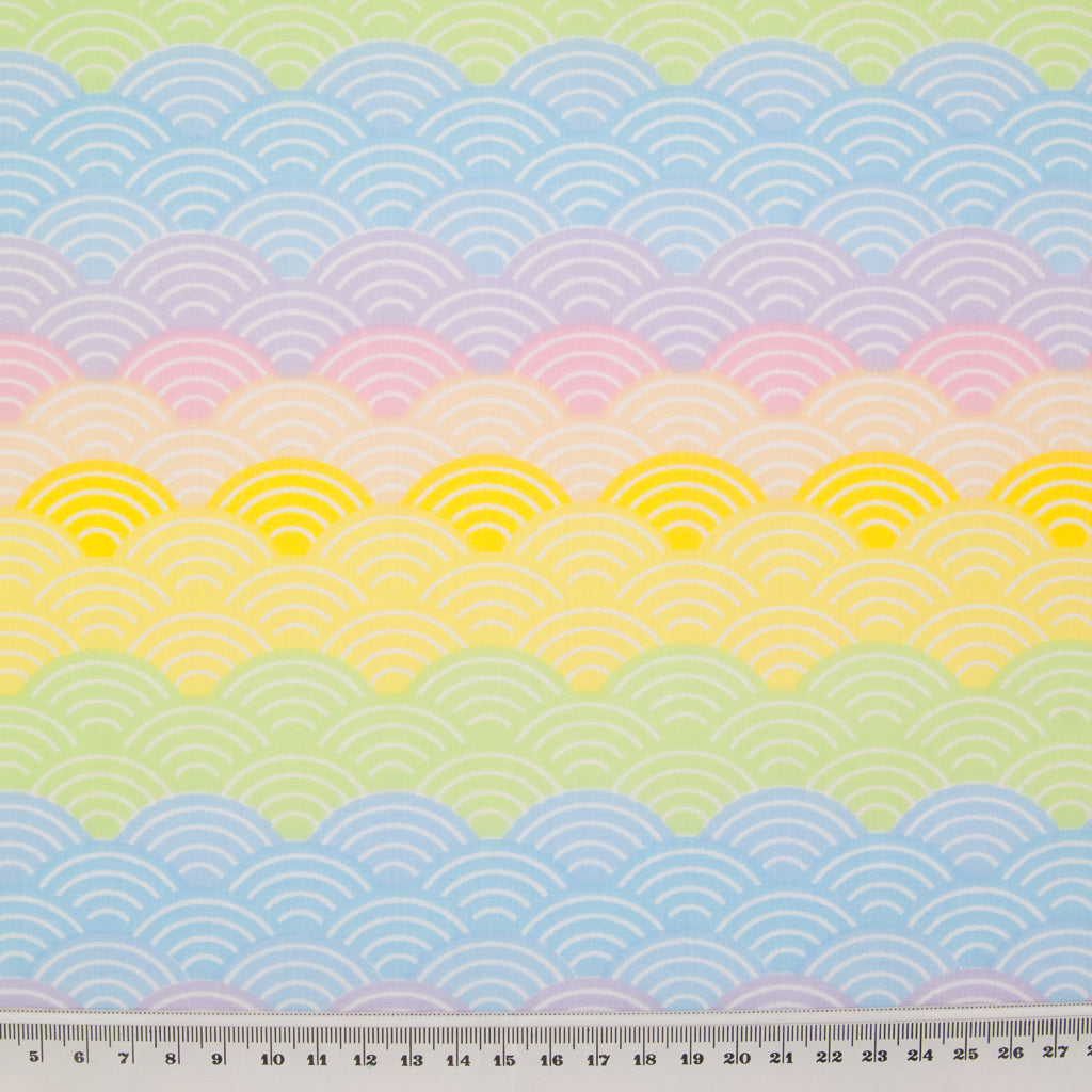 Pastel Rainbow & Hearts - Polycotton Bundle
