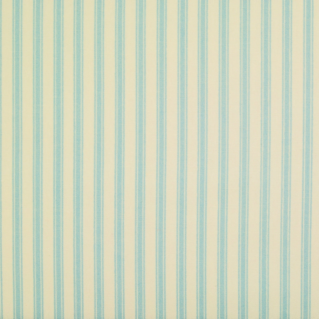 Rose & Hubble Classic Ticking Stripe  -  100% Cotton Poplin - Blue