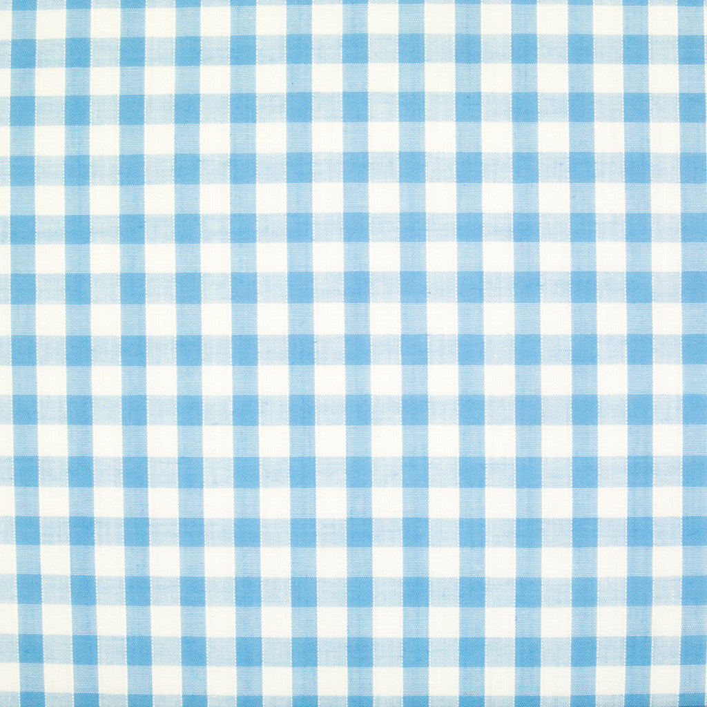 "1/4"" Corded Gingham Check - Light Blue"