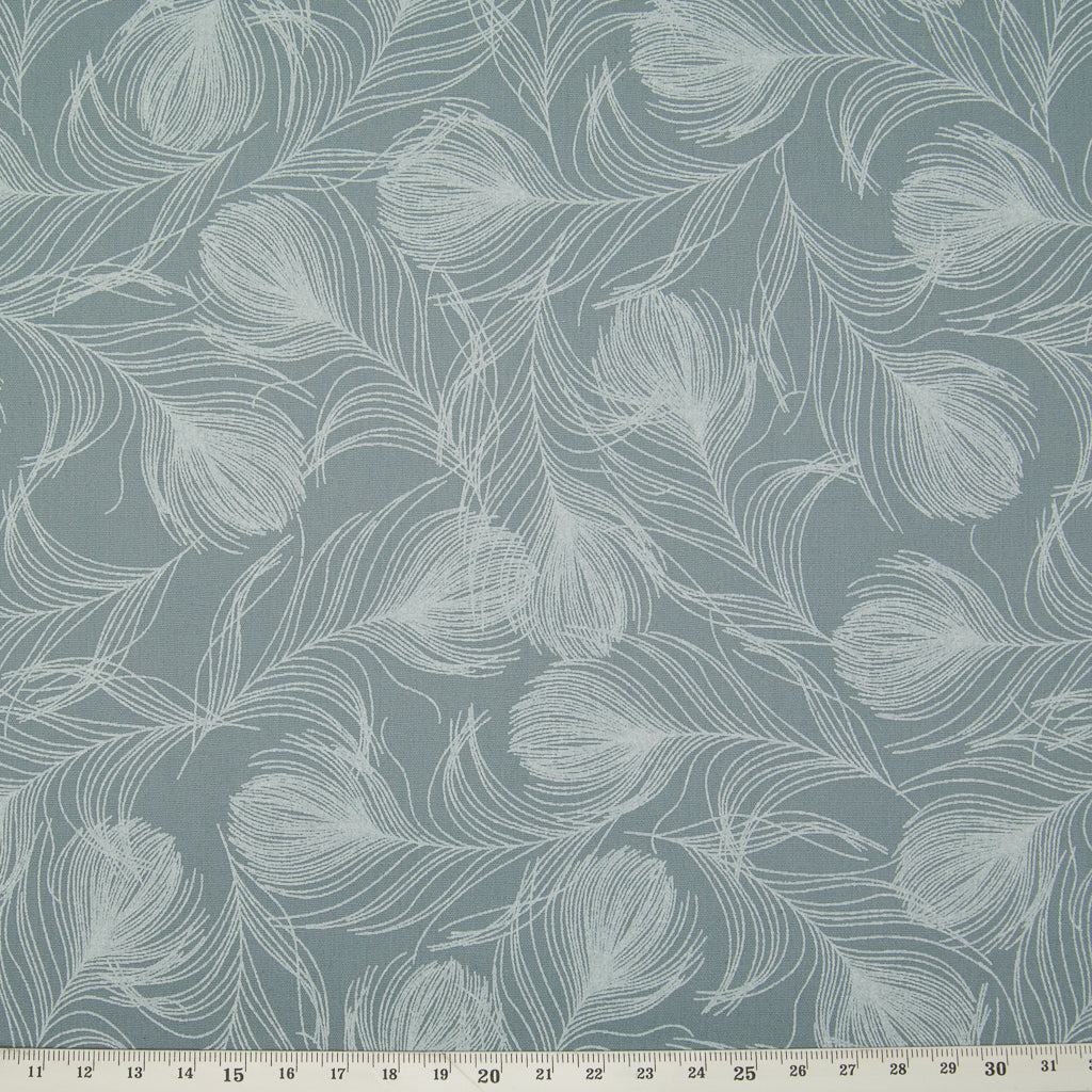 Feather by Rose & Hubble - 100% Cotton Poplin - Grey
