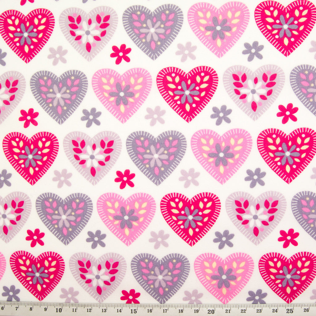 Hearts, Spots & Checks - Rose & Hubble - 100% Cotton Fat Quarter Bundle